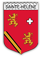 Armoirie de Sainte-Hélène sur Isère